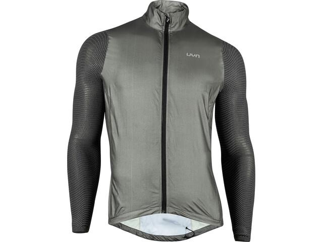 UYN Running Alpha Wind Jacket Men black melange/anthracite
